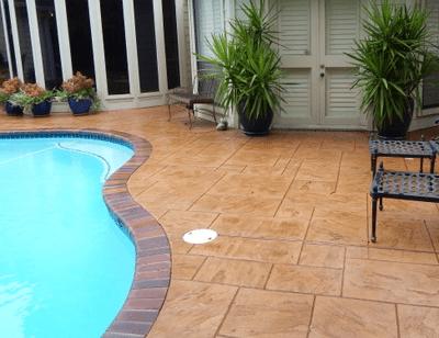 cement contractors pool decks danbury ct
