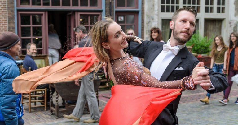 Stijldansen in Leiden - Centrum met Robin en Patty 2017
