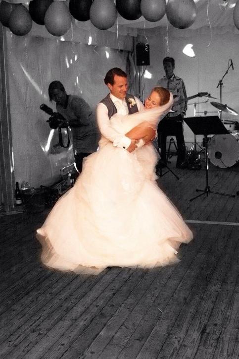 Openingsdans Bruiloft John en Fleur