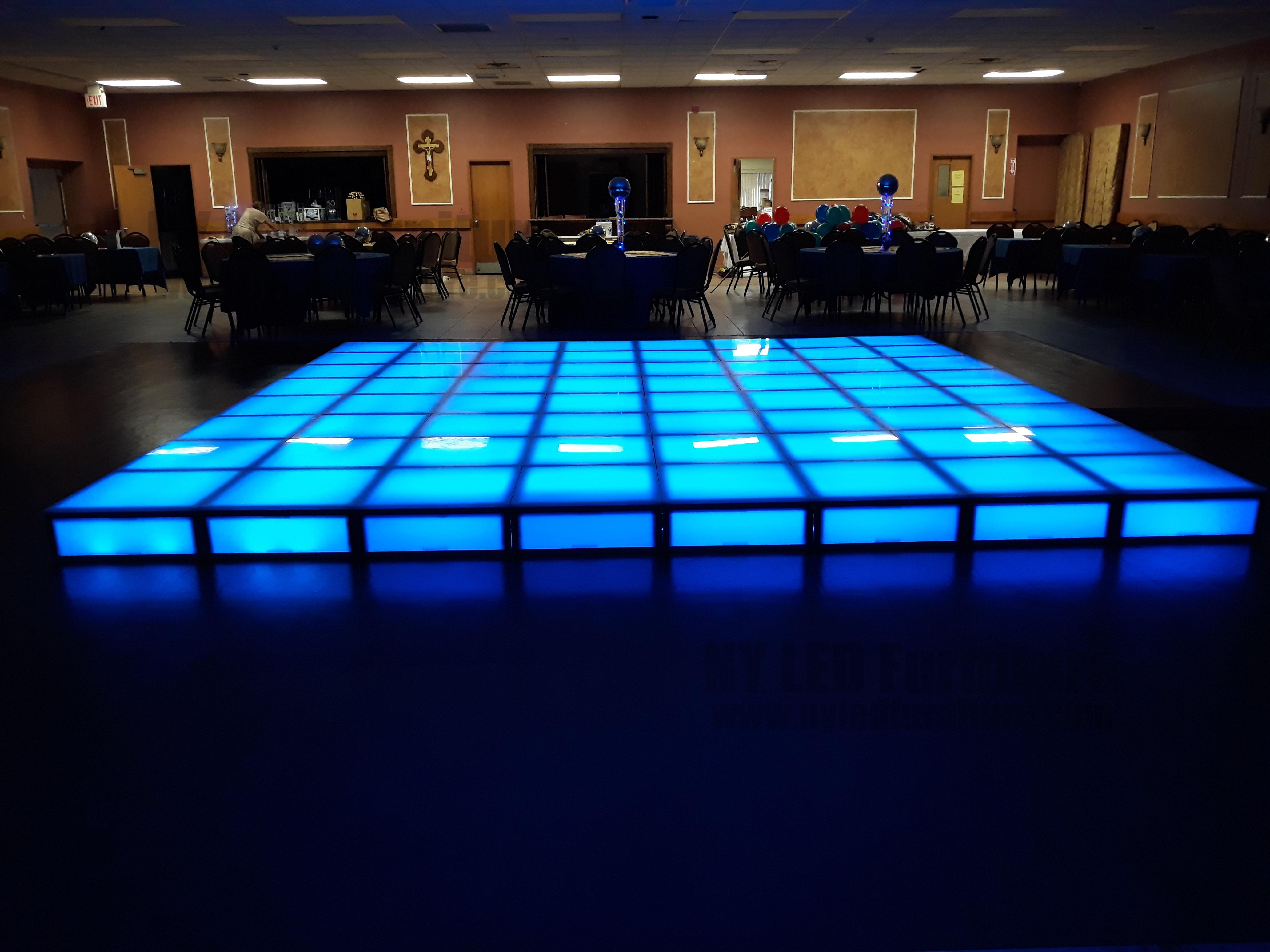 best lighted dance floor rental in long island nassau suffolk