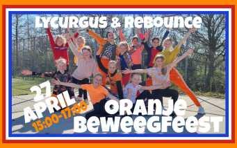 Oranje beweegfeest