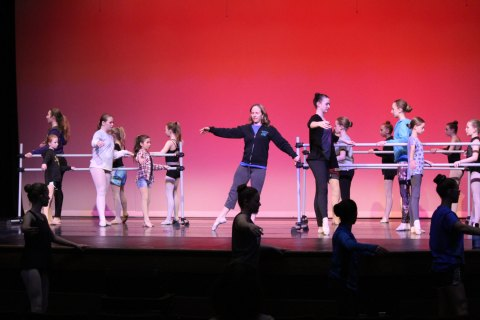 Spring Recital 2018 Warm-up Class