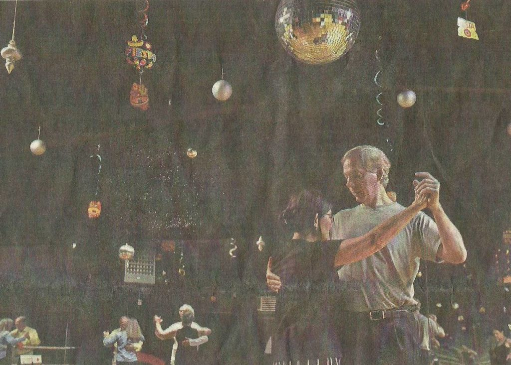 Argentine Tango Group Dance Class with John Malone at Applause Dance Factory Jackson, MS