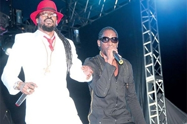 Beenie Man and Bounty Killer Guinness tribute