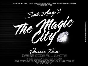 THE MAGIC CITY TEASER sIDE b