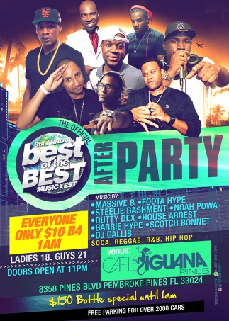 BEST OF THE BEST AFTER PARTY