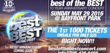 Best of the Best Concert 1
