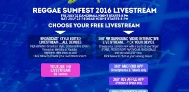 Reggae Sumfest Livestream