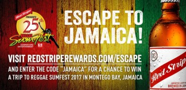 WIN A TRIP TO SUMFEST FROM RED STRIPE