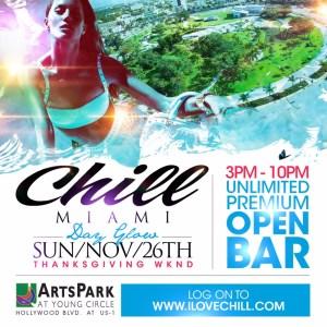 Check out CHILL Miami Event