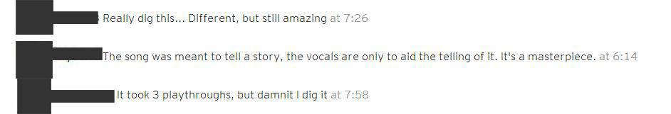 Anonymous Flume - Arcade Fire SoundCloud Comments - positive