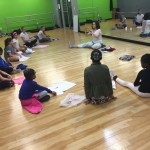 Getting ready for Hip Hop Dance Class