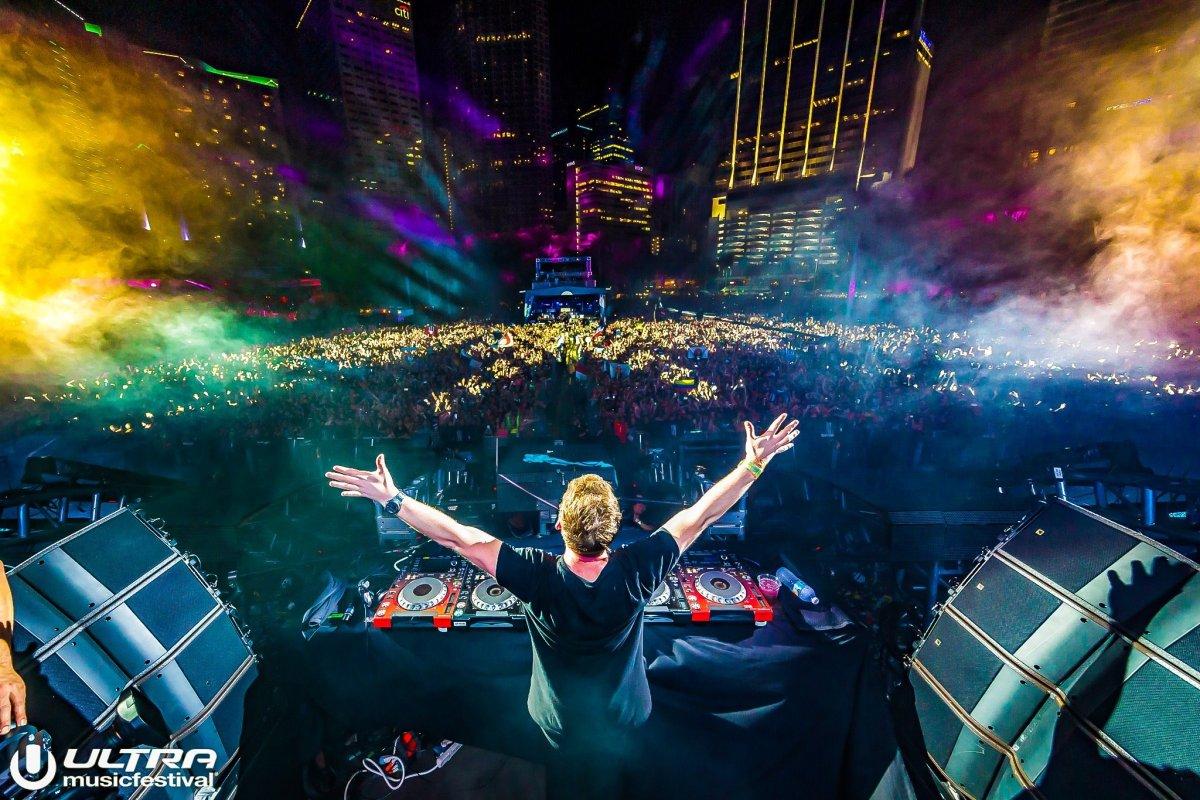 Ultra Miami Presents Hardwell Livestream in 360 Degrees