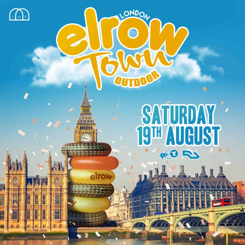 elrow Town LDN - Queen Elizabeth Olympic Park Announced As Venue