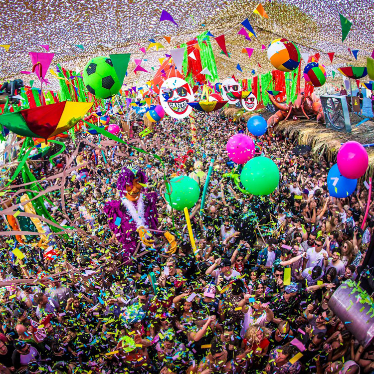 elrow Town London Announce Second Day Closing Ceremony