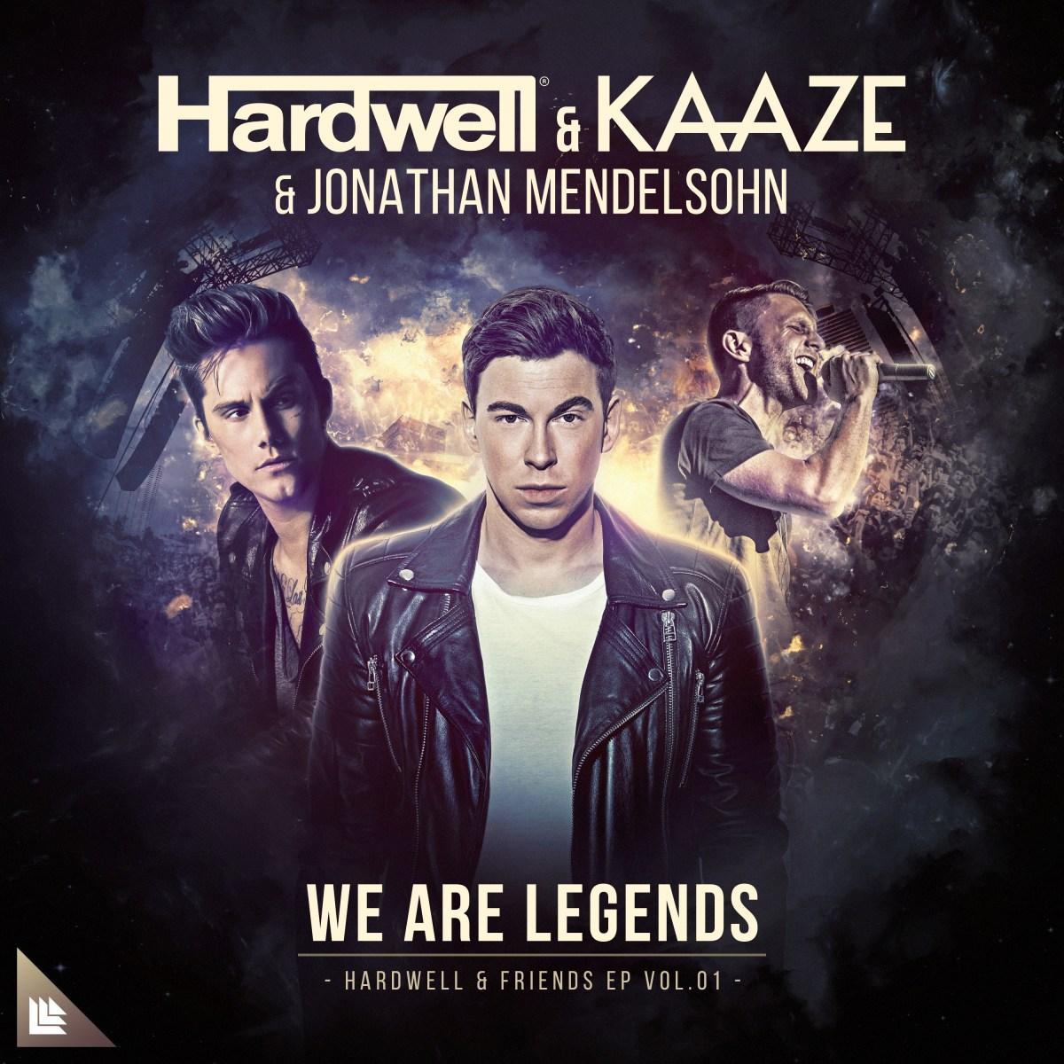 Hardwell & KAAZE & Jonathan Mendelsohn - We Are Legends [Revealed Recordings]