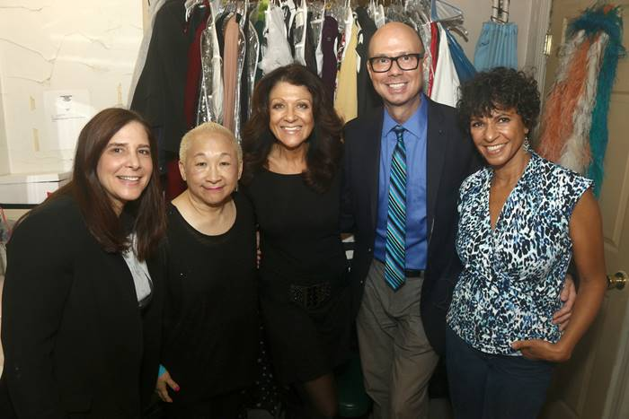 The 'Gotta Dance Team' – producer Dori Berinstein, DO40 members Lori Tan Chinn and Lenora Nemetz, moderator Richard Ridge and Nancy Ticotin at the Dancers Over 40-Diversity Event 2015: Can't Stop the Music! Can't Stop the Dance! Diversity All Around Us! on October 14, 2015 at St. Luke's Theater in New York. Photo courtesy of Dancers over 40.