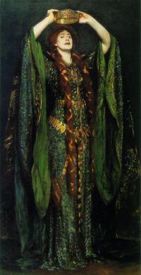 Lady Macbeth (by John Singer Sargent, 1889)