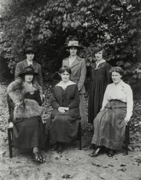 Staff at St. Hilda's, 1919