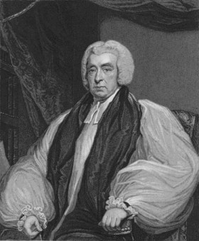 The gullible Beilby Porteus, Bishop of London, who unwittingly offered a clerical living to Henrietta