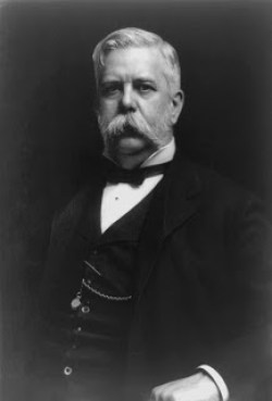 George Westinghouse, proponent of AC current