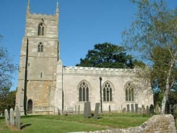 Teigh church, where Richard Folville was murdered