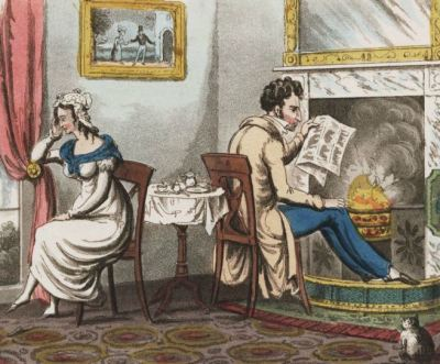 'Three weeks after marriage' (Lewis Walpole Library)