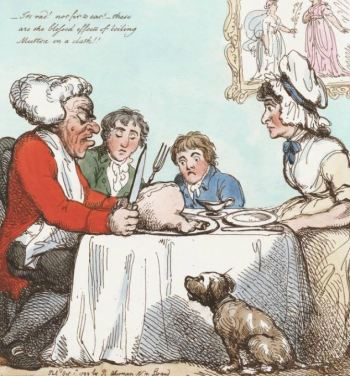 'The dinner spoil'd' (Lewis Walpole Library)
