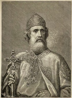An 1889 depiction of St Vladimir the Great