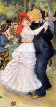 Dance at Bougival, Renoir, 1882-3