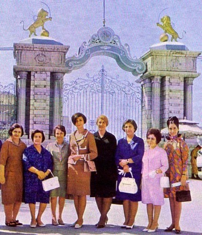Female parliamentarians in mid-1970s Tehran