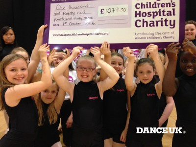 One Thousand Thanks From Glasgow Children's Hospital Charity