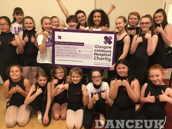GRAND TOTAL RAISED FOR GLASGOW CHILDREN'S CHARITY