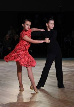Mark and Cristina were placed 1st and 3nd in Juveniel Silver Latin category