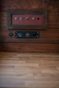 Master and light switch panel with charging ports