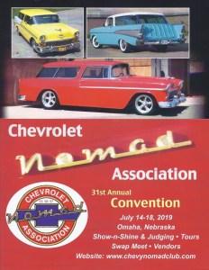 31st Chevrolet Nomad Association Convention Flyer