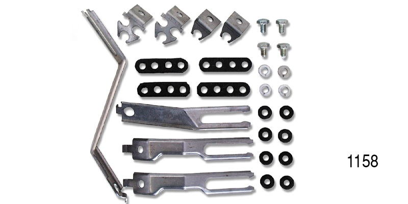 Chevy Spark Plug Wire Support Brackets And Hardware