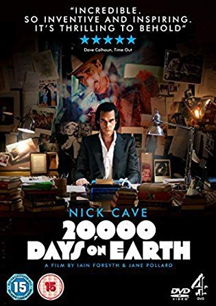 CAVE NICK - 20 000 DAYS ON EARTH...DVD