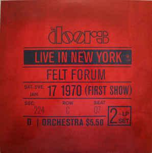 DOORS - LIVE IN NEW YORK...LP2