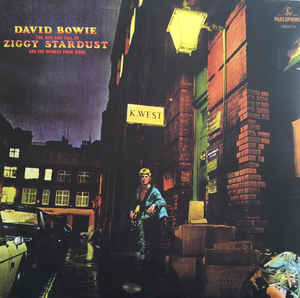 BOWIE DAVID - RISE AND FALL OF ZIGGY STARDUST AND SPIDERS FROM MARS (2016)...LP