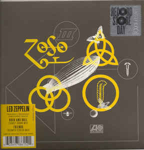 LED ZEPPELIN - ROCK AND ROLL/FRIENDS...7''