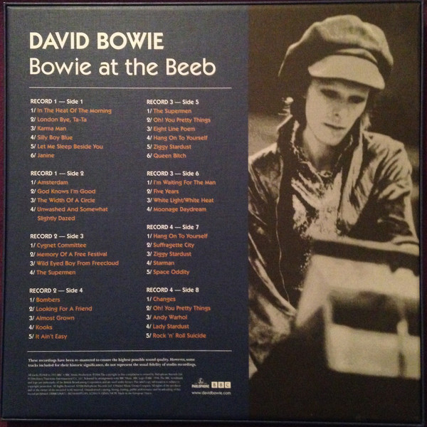 BOWIE DAVID - BOWIE AT THE BEEB...LP4