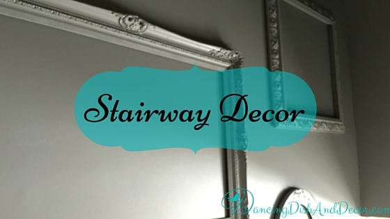 Not So Plain Stairway Decor