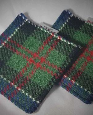 Harris Tweed coasters: MacFadzean