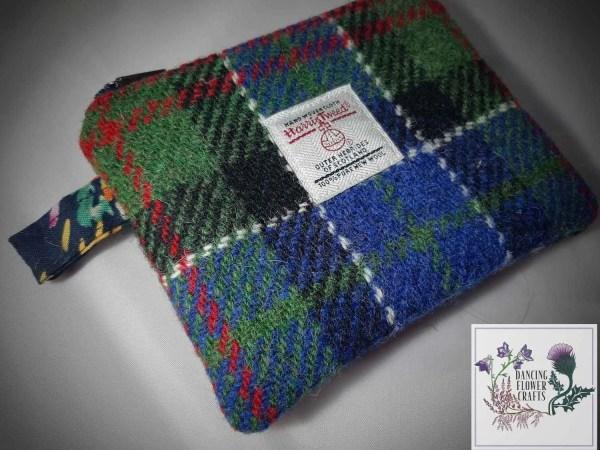 Harris Tweed coin purse: MacFadzean