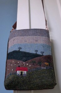 Harris Tweed Handbag: Croft