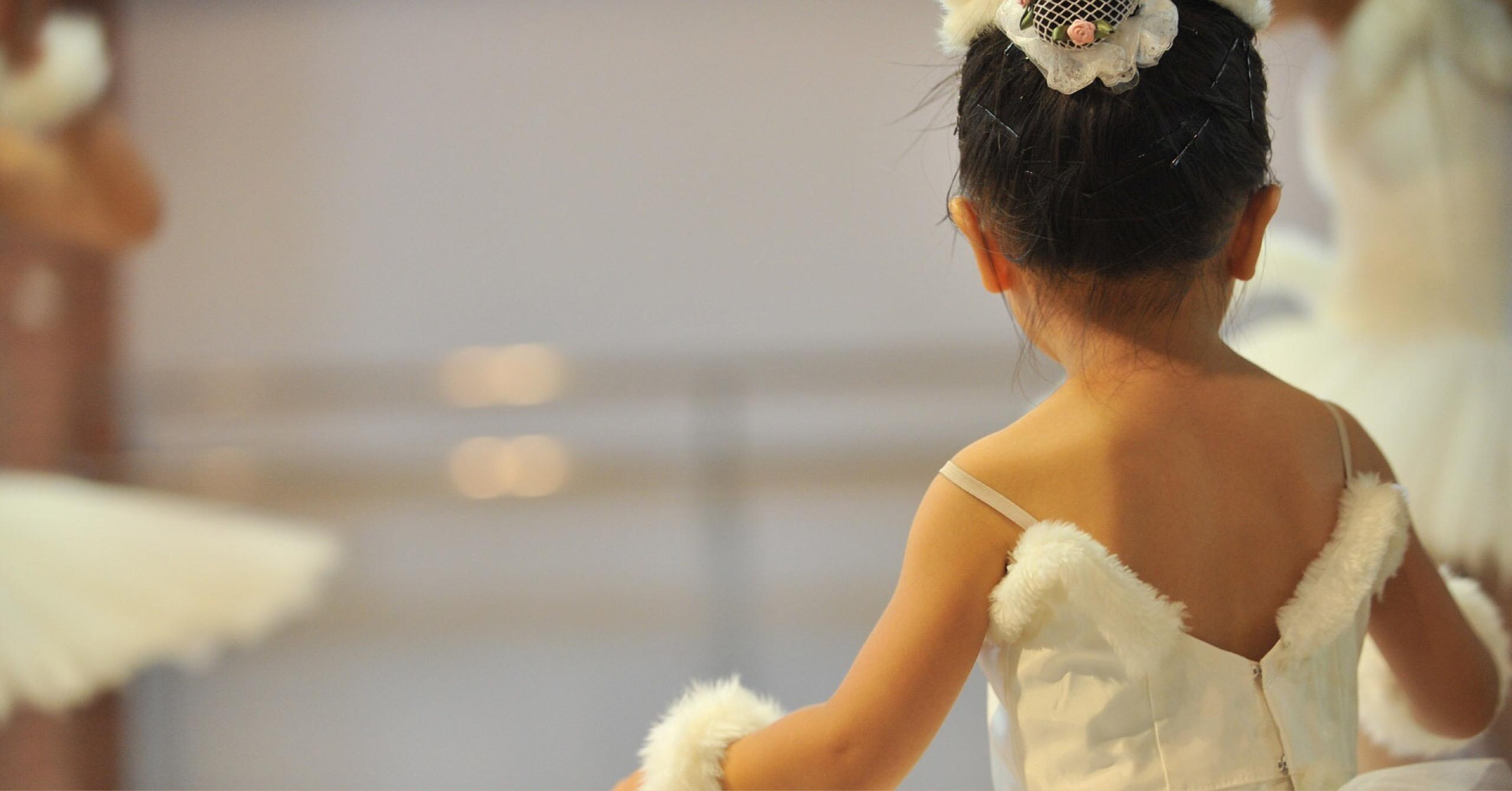 バレエは本人の意志で始めたのだから、最後まで…