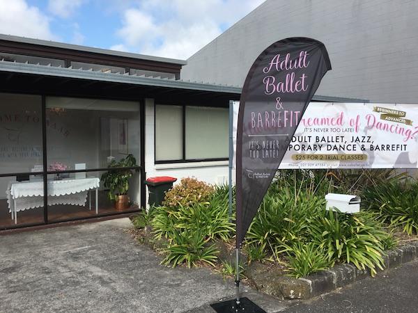 ニュージーランドのバレエ教室訪問