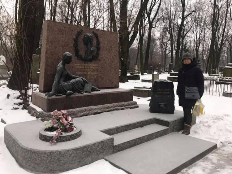 ワガノワ現地レポート03「偉大な芸術家達の墓地の一つ」
