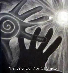 Hands of Light Detail